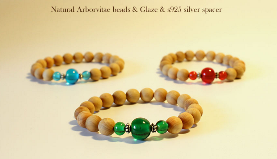 Buddhism Mala Beads & Natural Wood Beads Bracelets