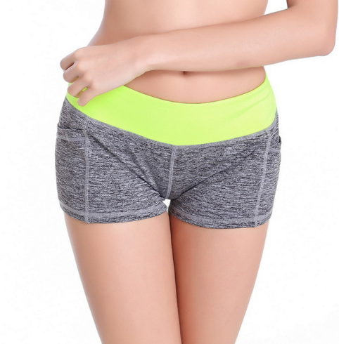 Women Sports Yoga Shorts Cotton