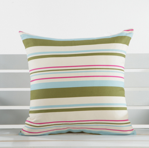 Flower Stripe Meditation Cushion