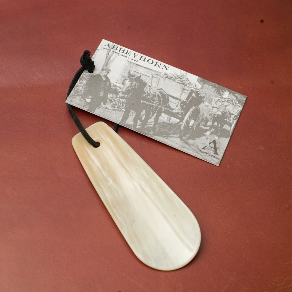 Abbeyhorn Small Shoehorn 11cm
