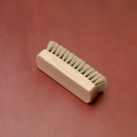 Horsehair Shoe Shine Brush 12cm