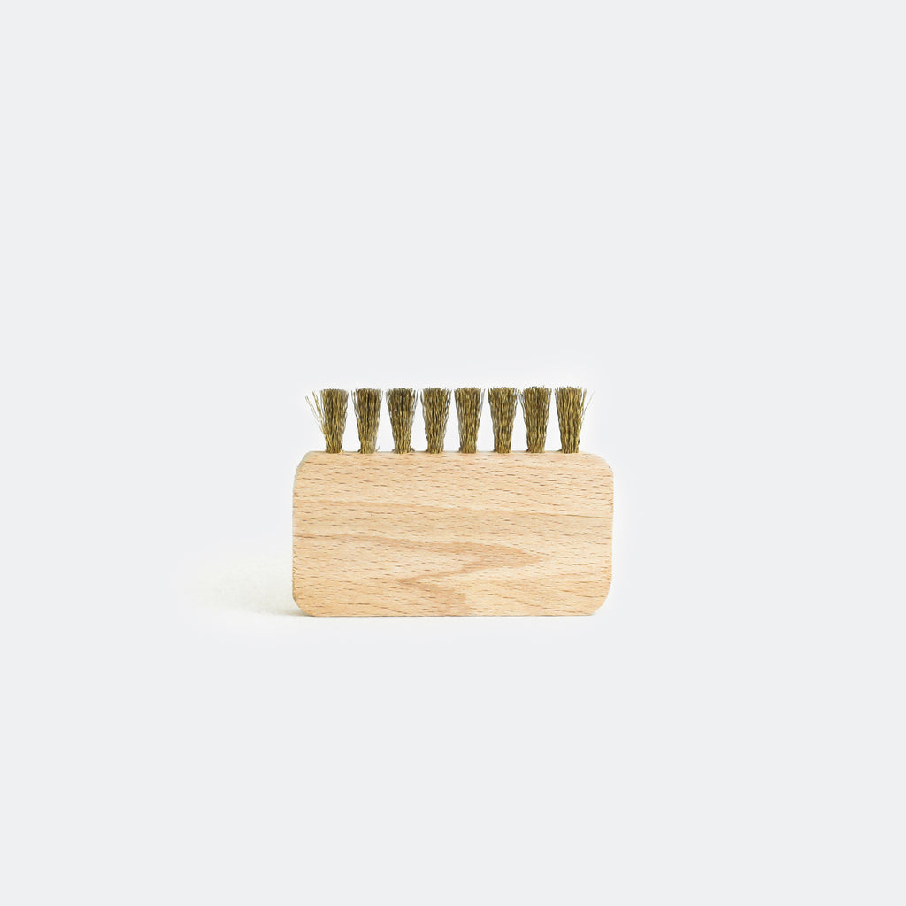 Suede Brush w/ Brass Bristle (Small)