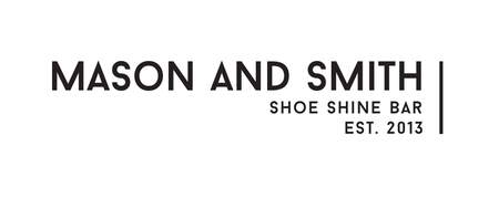 Mason and Smith Shoe Shine Bar