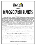 Dialogic Earth! Planets