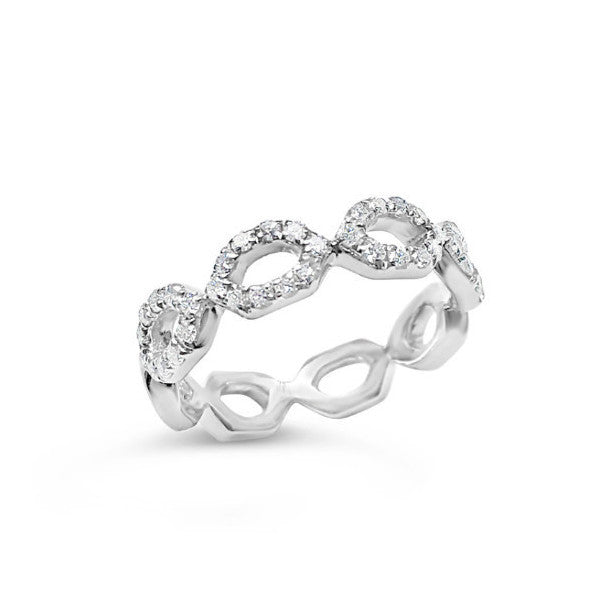 Diamond eternity ring -Squaregal