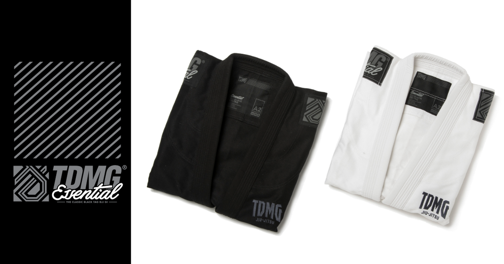 TDMG Essential Black Tag BJJ Gi