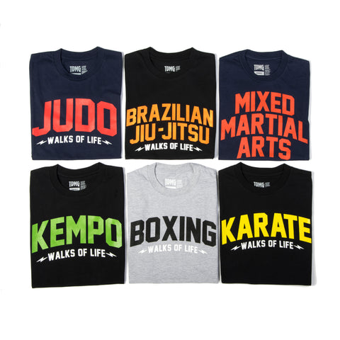 TDMG MARTIAL ARTS SERIES TEE - TDMG