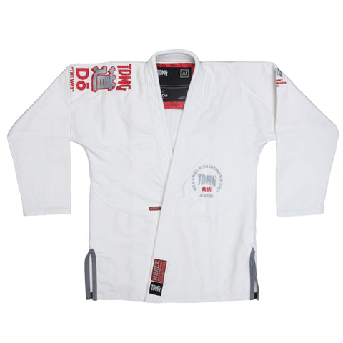 TDMG THE WAY BJJ GI FEHÉR - TDMG