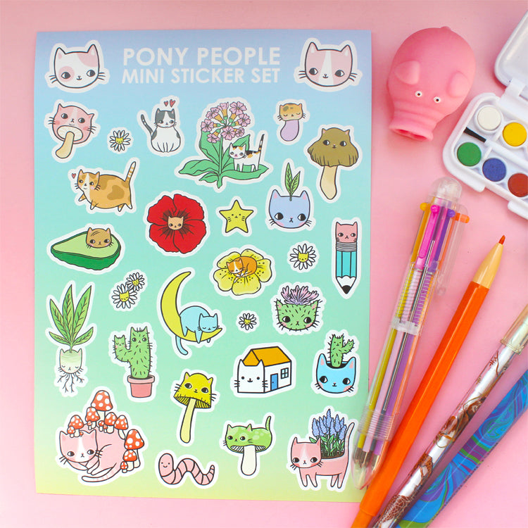 Kitty Party Mini Sticker Set