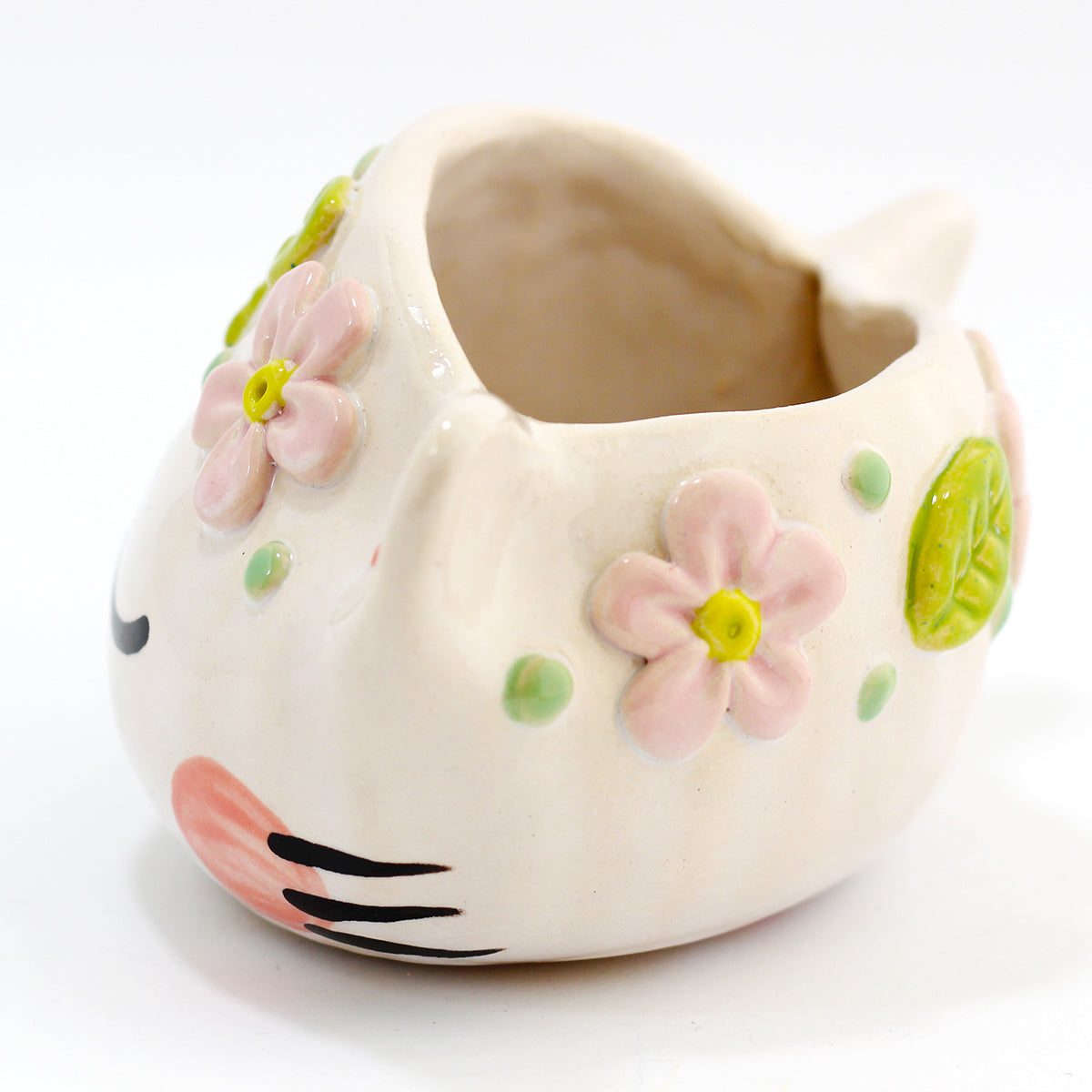 Ceramic Kitty Planter #605 - XXXL