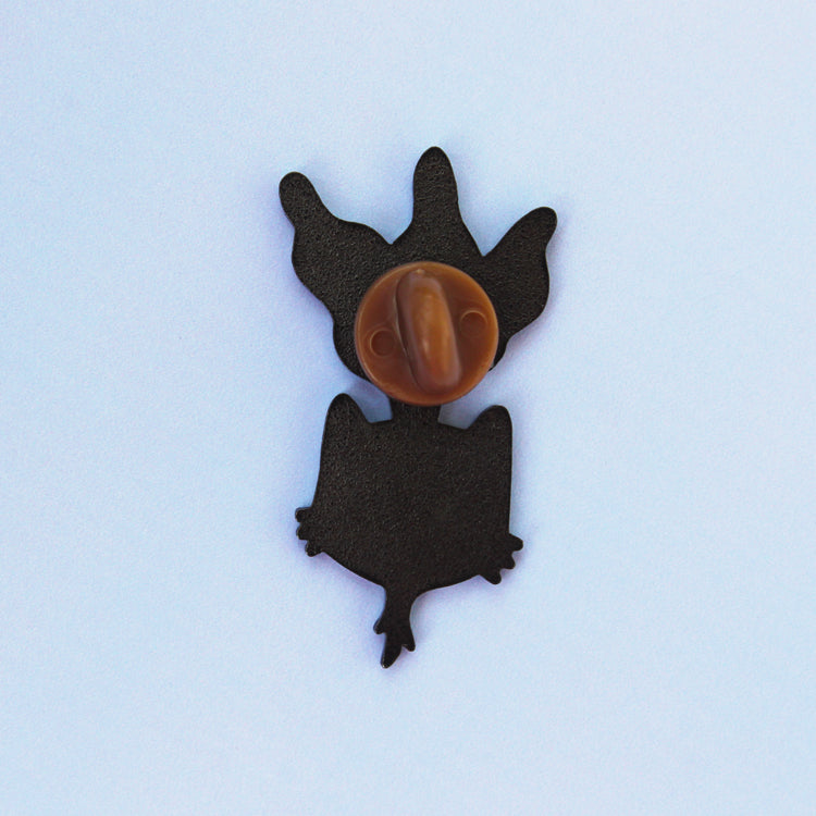 Beetroot Kitty Enamel Pin