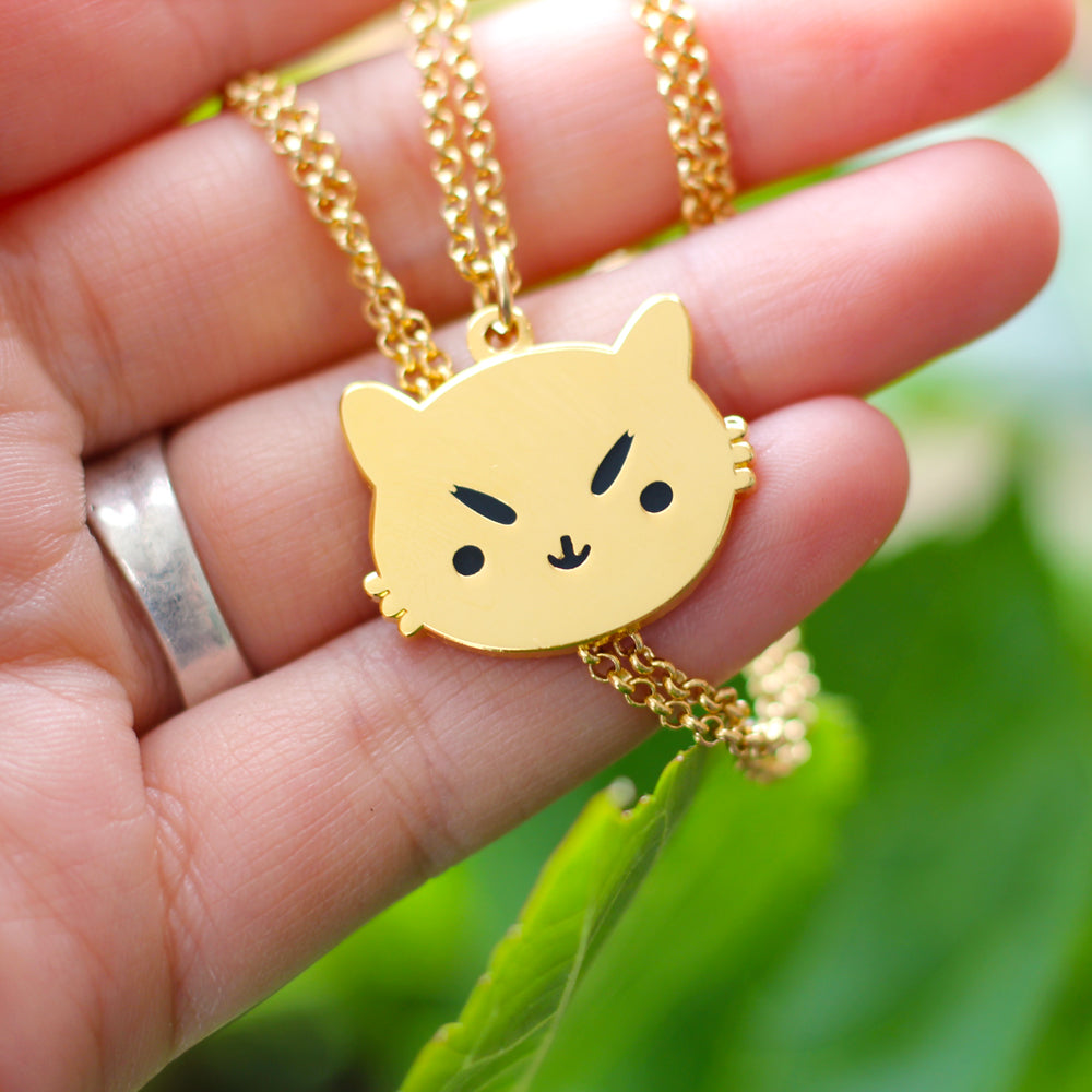 Sassy Kitty Necklace