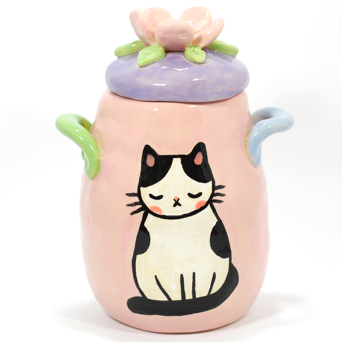 Ceramic Kitty Planter #1148 - M