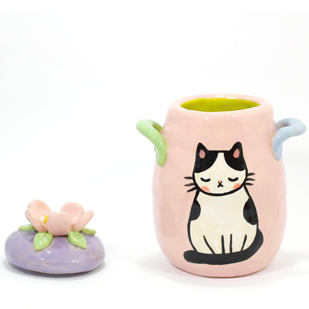 Ceramic Kitty Planter #831 - M