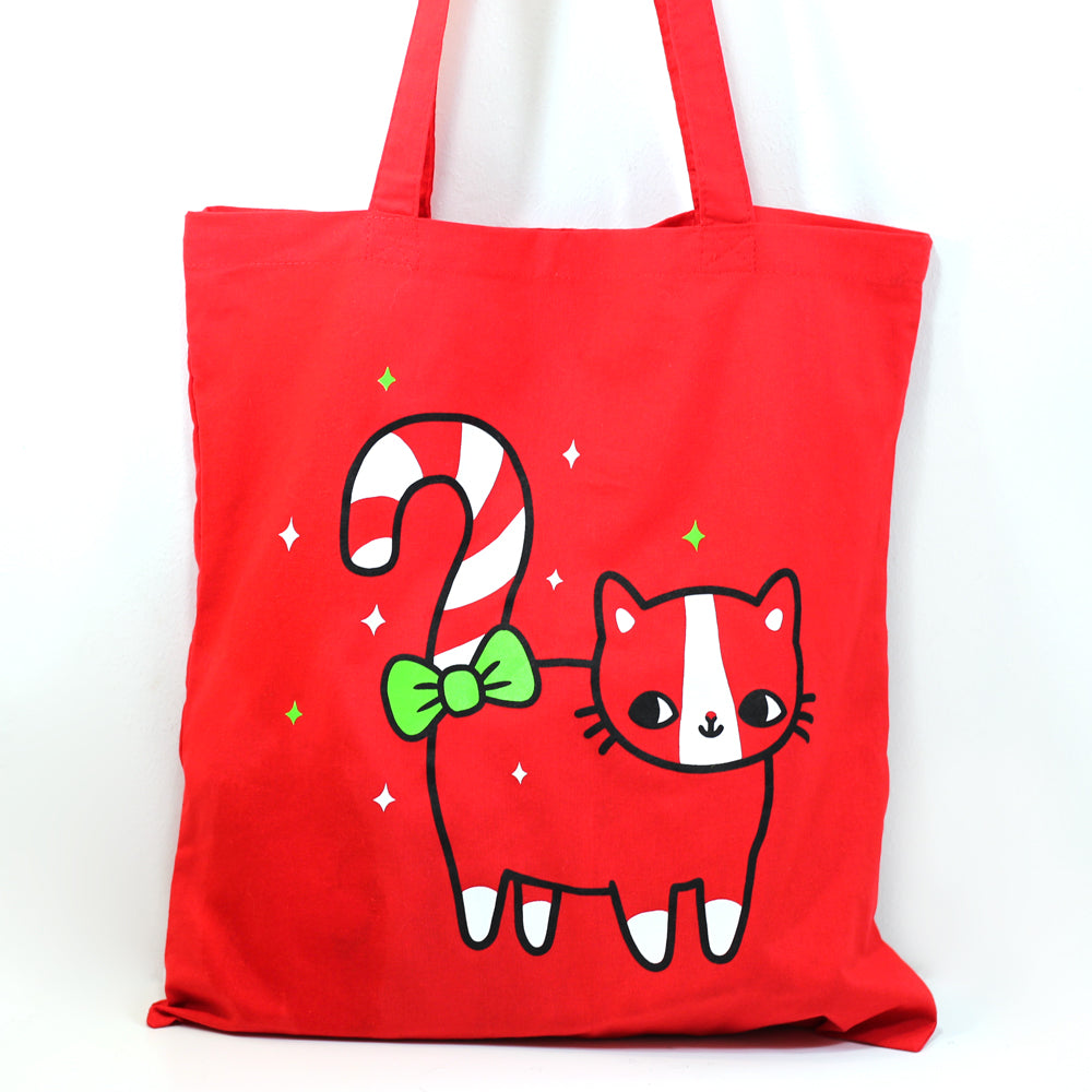 Candy Cat Tote Bag