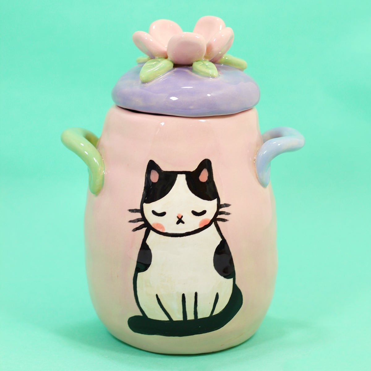 Ceramic Kitty Planter #1173 - XXL