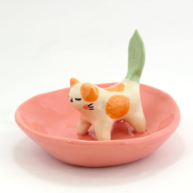 Ceramic Kitty Planter #232 - XL