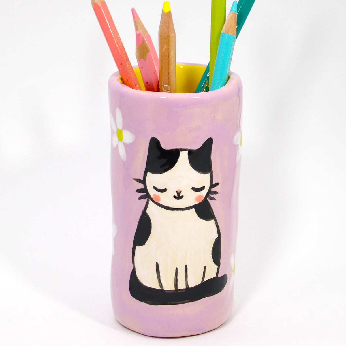 Ceramic Kitty Planter #1027 - L