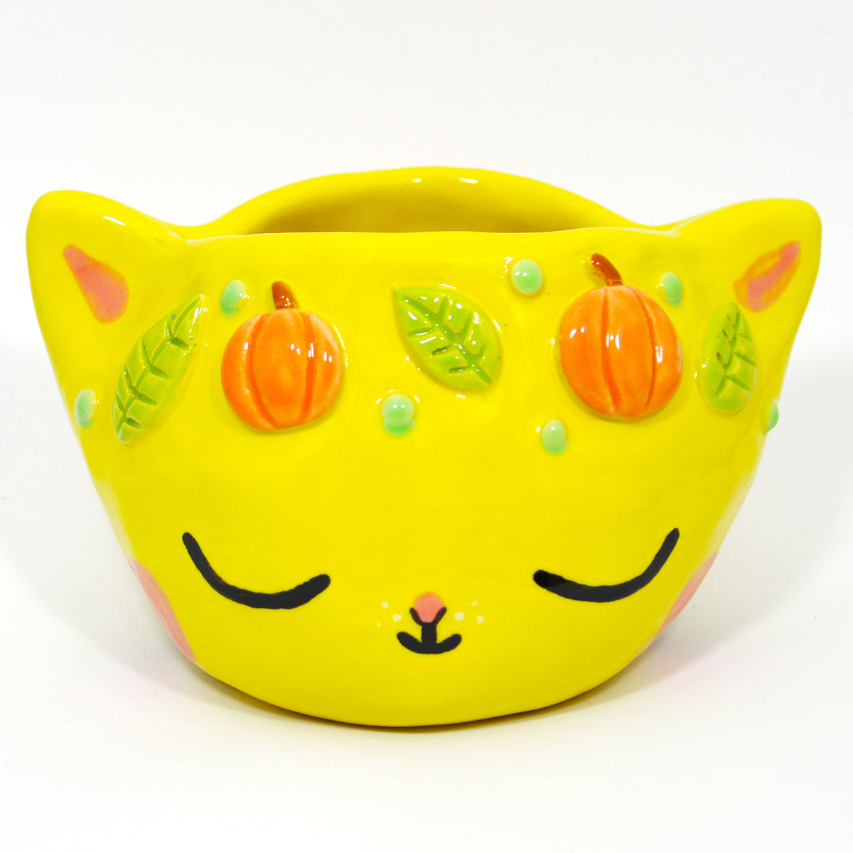 Ceramic Kitty Planter #1191 - M