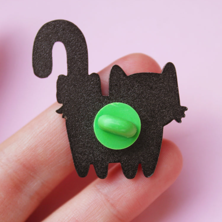 Candy Cat Enamel Pin
