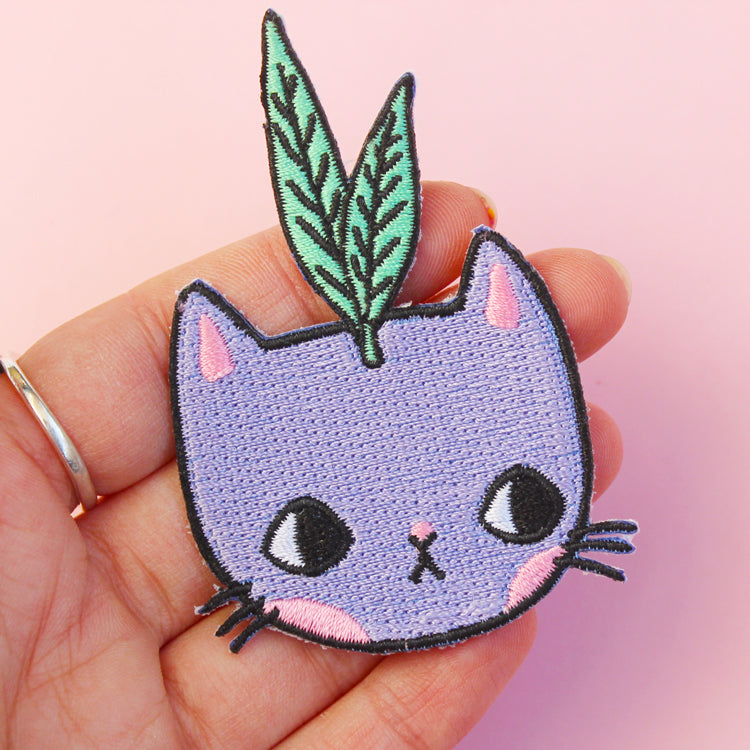 Sprout Kitty Patch
