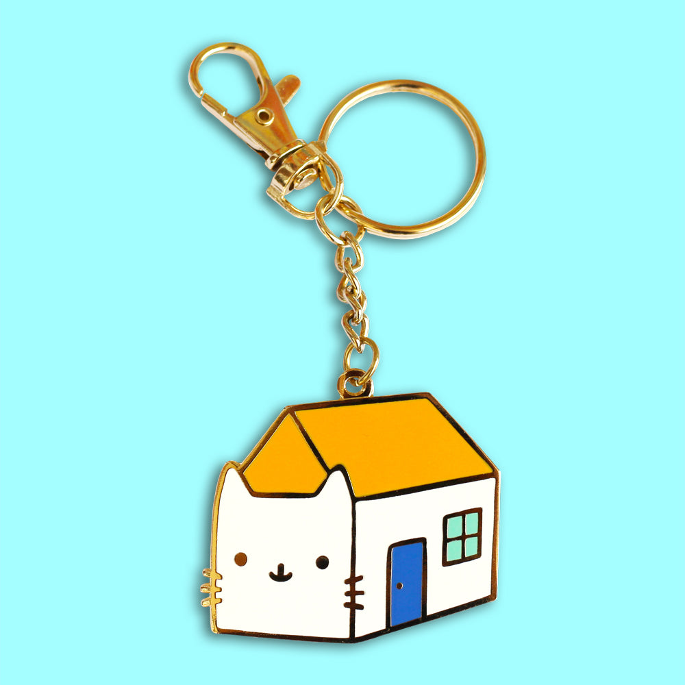 House Cat Keychain