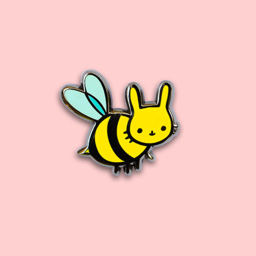 Honey Bunny Enamel Pin