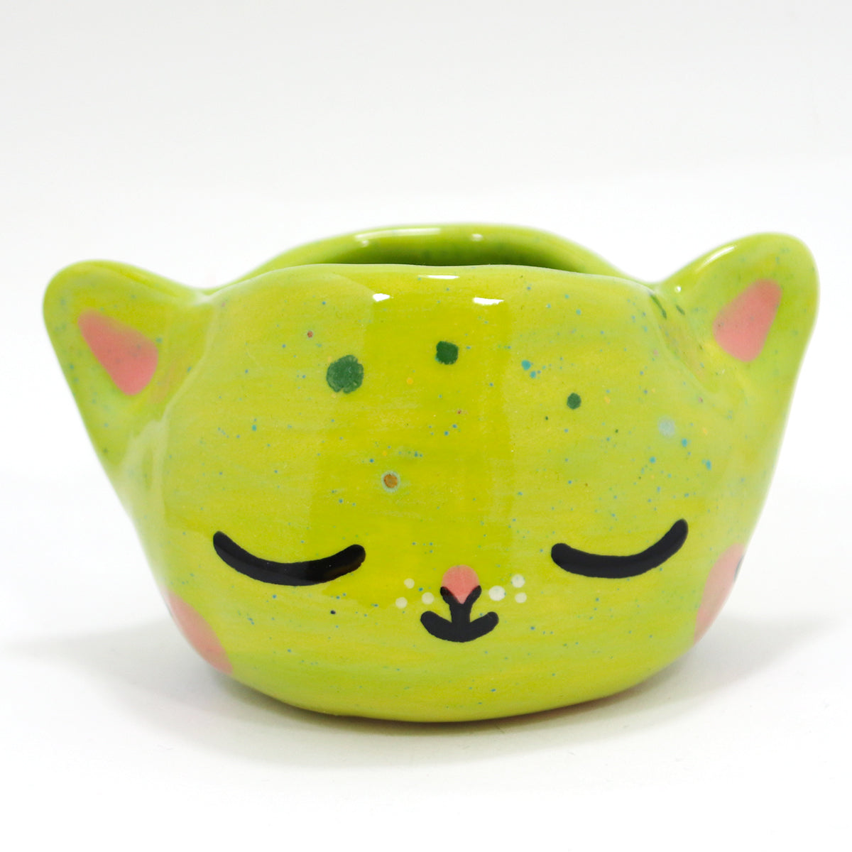 Ceramic Kitty Planter #1387 - S