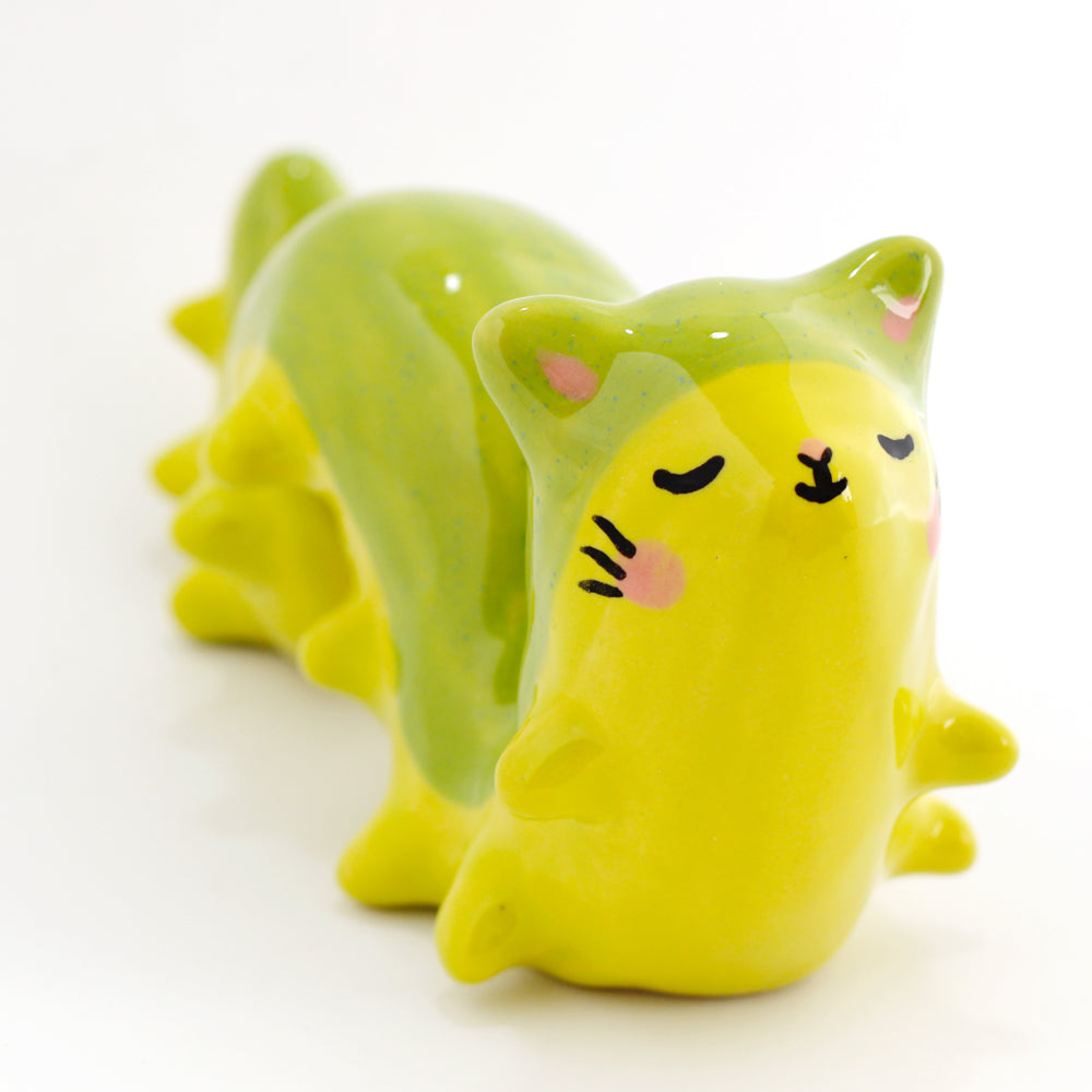 Ceramic Caterpillar Figurine #1057