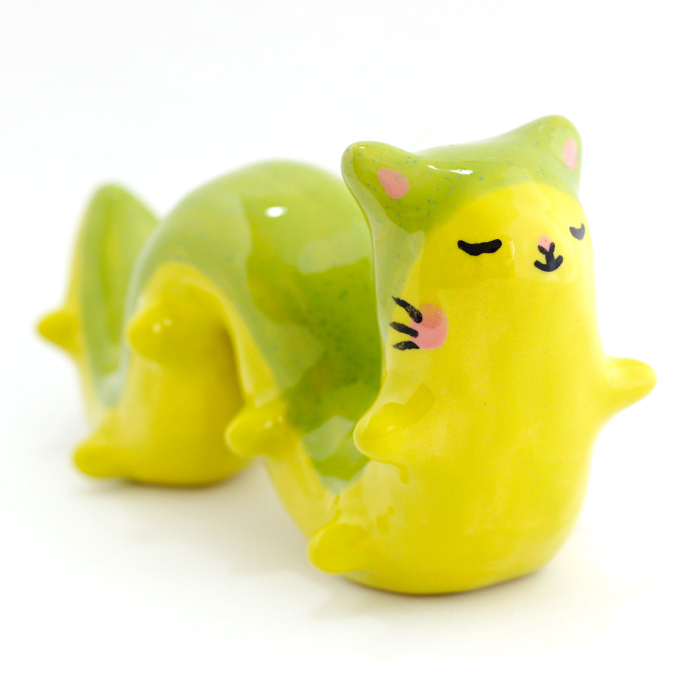 Ceramic Caterpillar Figurine #1058