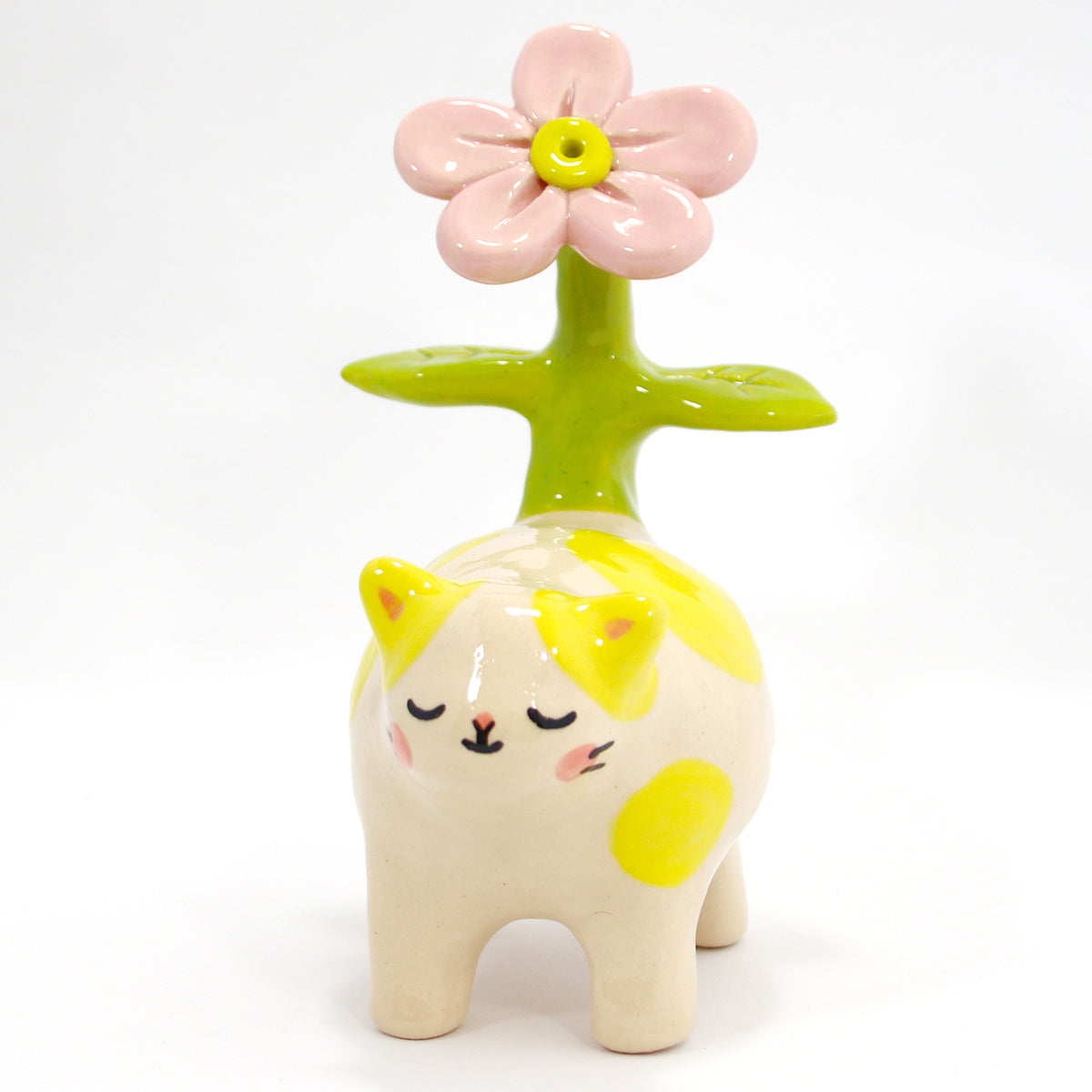 Ceramic Kitty Planter #528