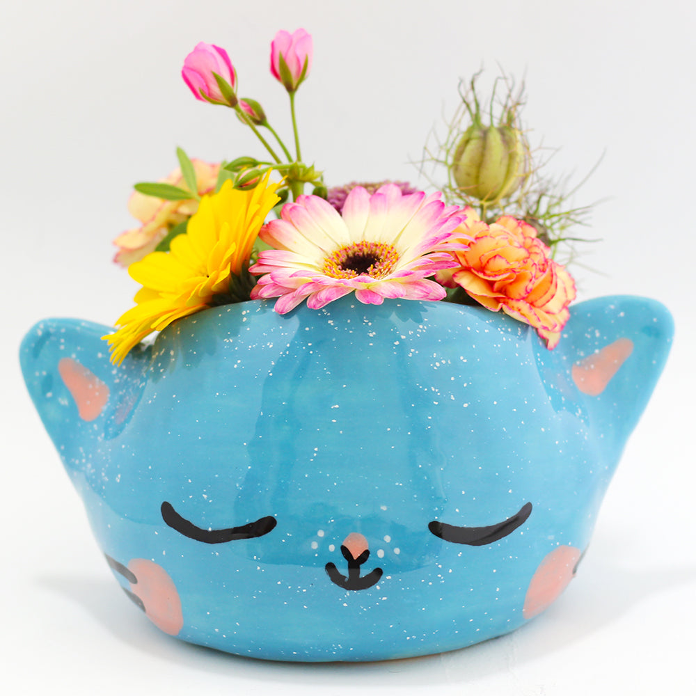 Ceramic Kitty Planter #1223 - XXXXXL