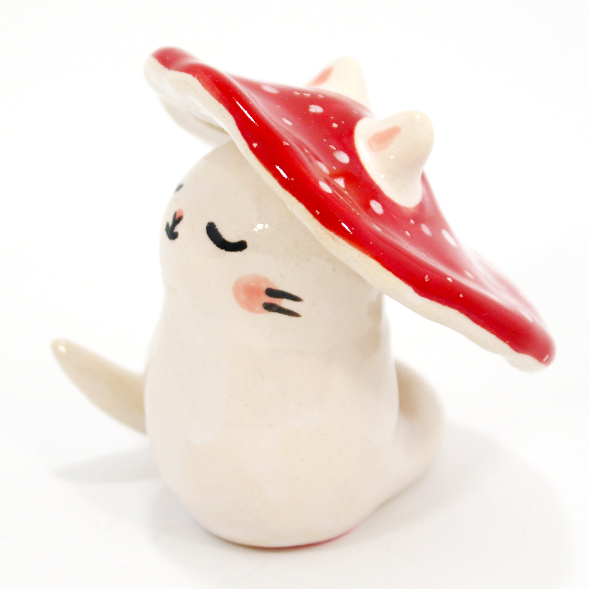 Ceramic Kitty Planter #1235 - L