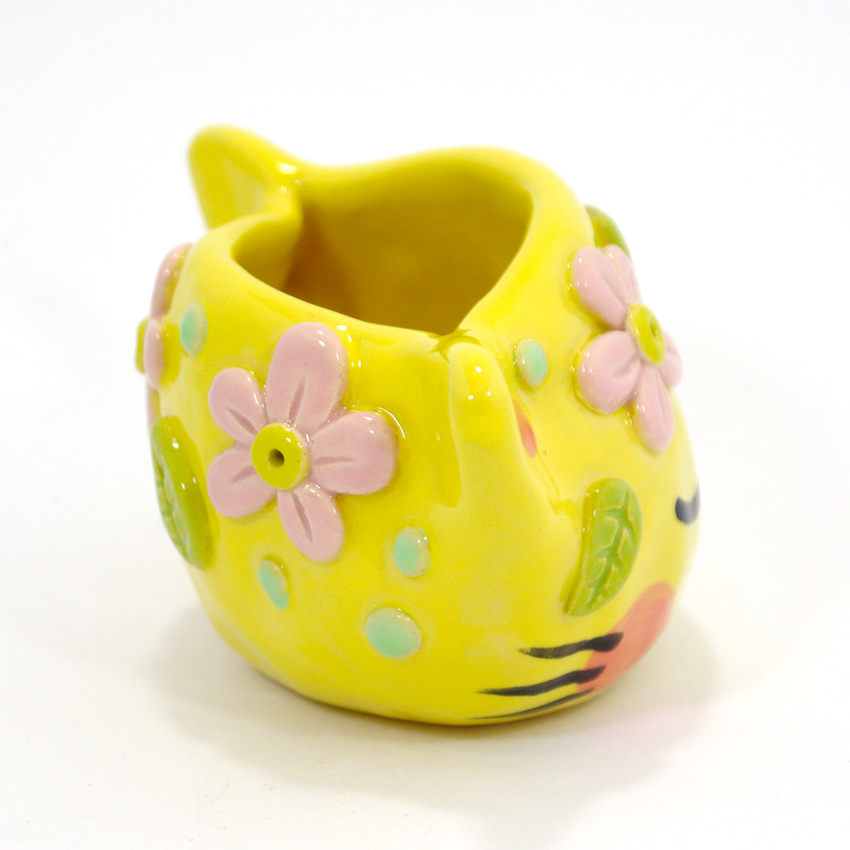 Ceramic Kitty Planter #1424 - S