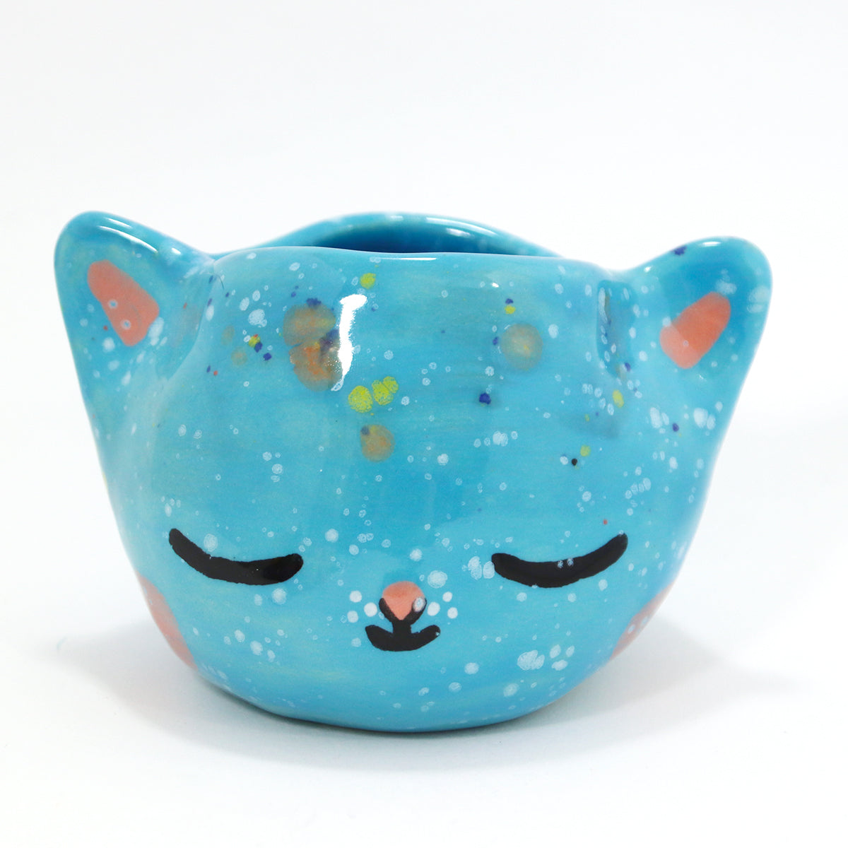Ceramic Kitty Planter #1430 - M