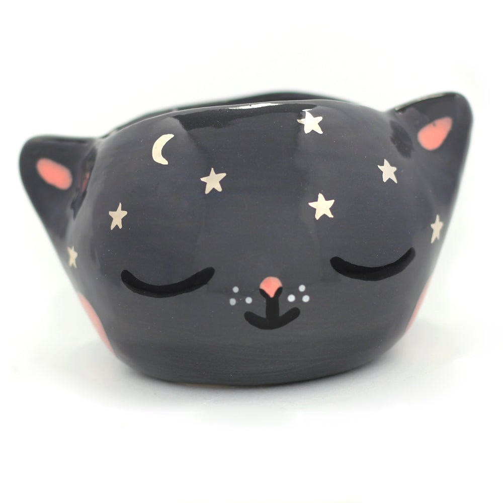 Ceramic Kitty Planter #130 - XL