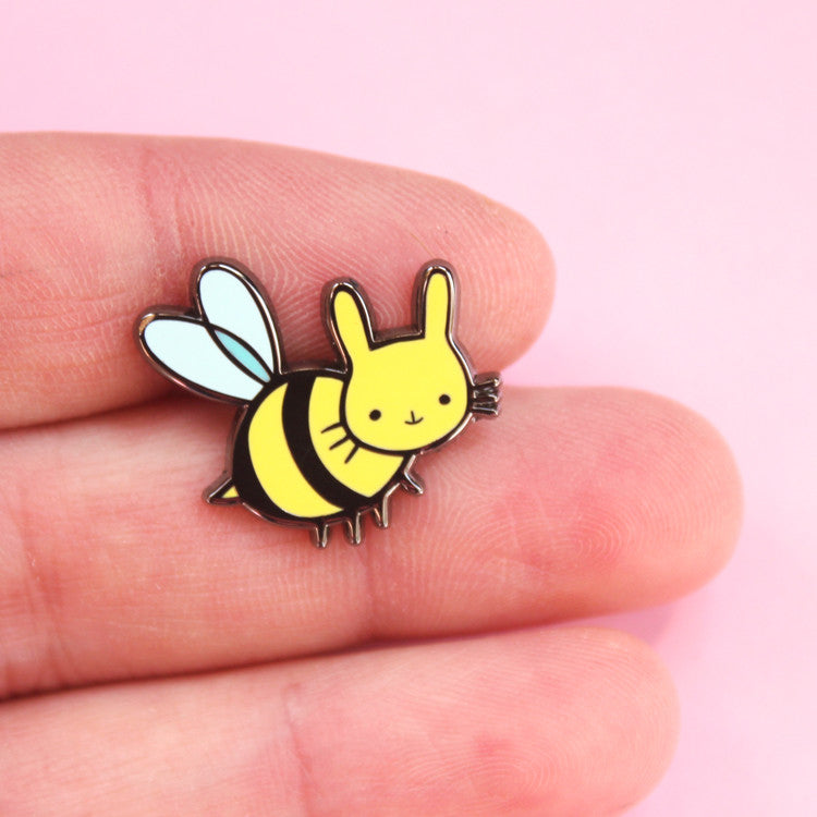 Honey Bun Enamel Pin