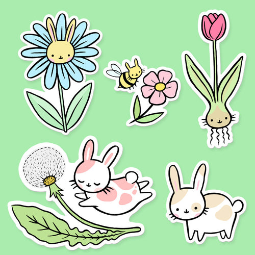Honeybun Vinyl Sticker Set