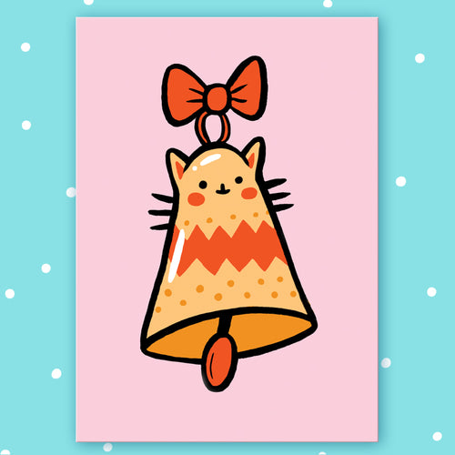 Kitty Bell Postcard