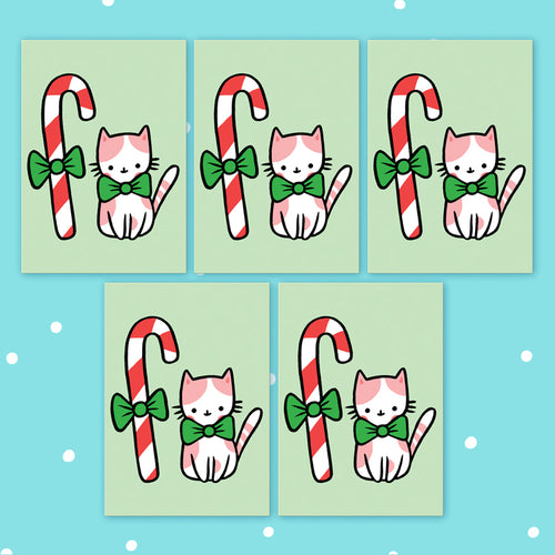 Candy Cat Postcards Set of 5
