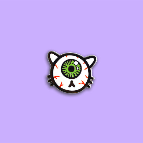 Eyeball Kitty Pin - SALE