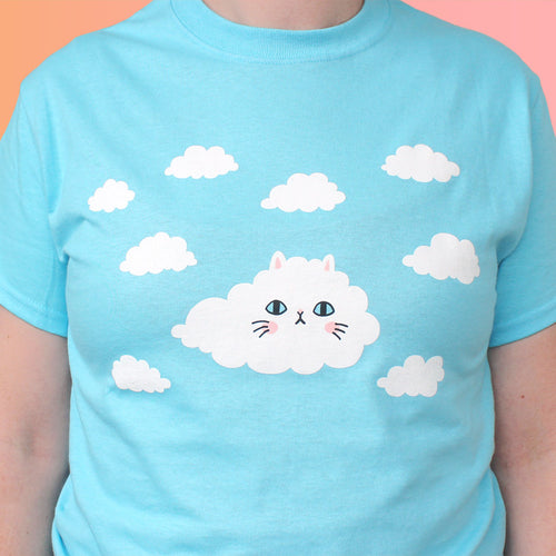 Cloud Kitty Unisex T-Shirt