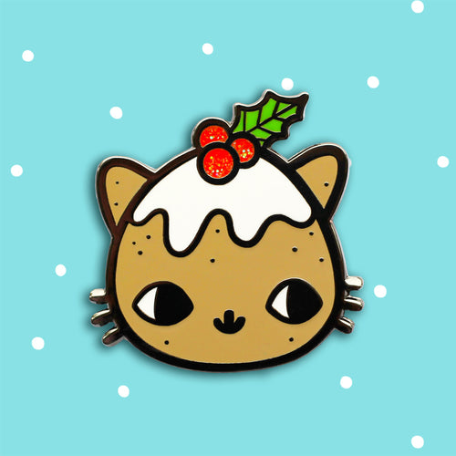 Pudding Kitty Pin