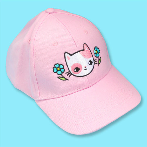 Forget Me Not Cat Cap