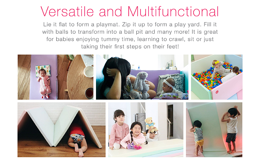 Versatile and Multi-functional Bumper Mat Play mat