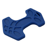 Helles Teeth Thor's Hammer Teether (Steel Blue)