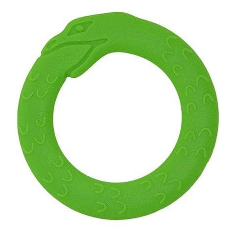 Helles Teeth Serpent Teether (Lime Green)