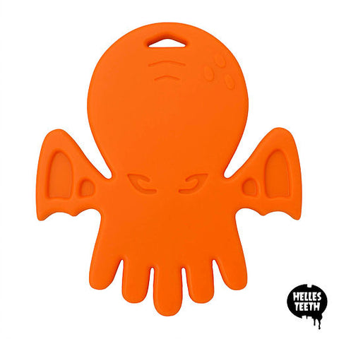 Helles Teeth Cthulhu Teether (Worm Orange)