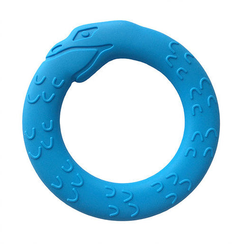 Helles Teeth Serpent Teether (Fjord Blue)