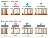 Nihon Ikuji Wide Extension Panel S Size (24 cm) – Extension Panel for Smart Gate II & Smart Gate II Plus